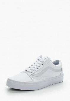 Кеды, Vans, цвет: белый. Артикул: VA984AUEJS14.