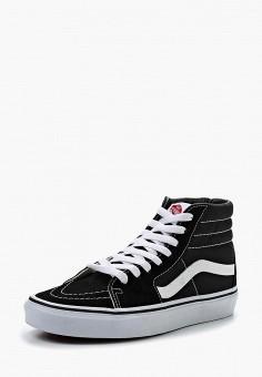 Кеды, Vans, цвет: черный. Артикул: VA984AUEJS15.