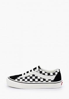 Кеды, Vans, цвет: черный. Артикул: VA984AUIMIU5.