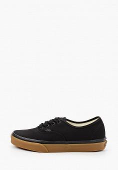 Кеды, Vans, цвет: черный. Артикул: VA984AUIMJR1.