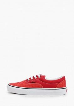 Кеды, Vans, цвет: красный. Артикул: VA984AUIMJT8.