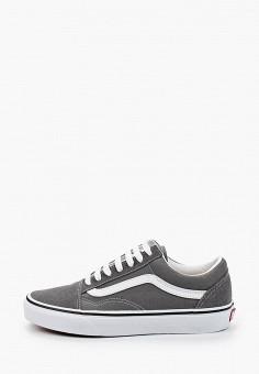 Кеды, Vans, цвет: серый. Артикул: VA984AUIMJT9.