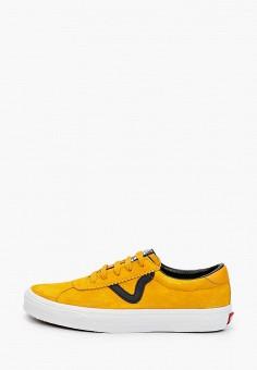 Кеды, Vans, цвет: желтый. Артикул: VA984AUIMJW2.