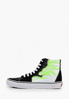 Кеды, Vans, цвет: черный. Артикул: VA984AUIMJX3.