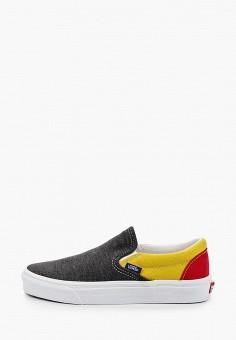 Слипоны, Vans, цвет: мультиколор. Артикул: VA984AUIMJX4. Обувь / Слипоны