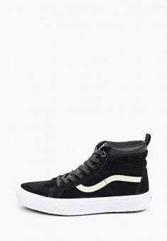 Кеды, Vans, цвет: черный. Артикул: VA984AUITAJ3.