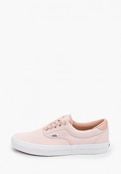 Кеды, Vans, цвет: розовый. Артикул: VA984AUITAJ8.