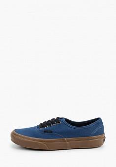 Кеды, Vans, цвет: синий. Артикул: VA984AUITEO9.