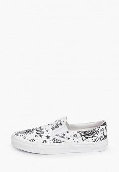 Слипоны, Vans, цвет: белый. Артикул: VA984AUKIZE1. Обувь / Слипоны