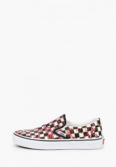 Слипоны, Vans, цвет: мультиколор. Артикул: VA984AUKIZE2. Обувь / Слипоны