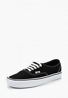 Кеды, Vans, цвет: черный. Артикул: VA984AURCS23.