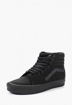 Кеды, Vans, цвет: черный. Артикул: VA984AUVZS48.