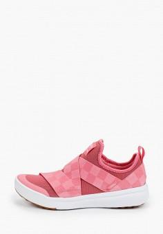 Кроссовки, Vans, цвет: розовый. Артикул: VA984AWIJXC0.