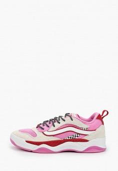 Кроссовки, Vans, цвет: розовый. Артикул: VA984AWIMKU2.