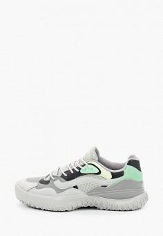 Кроссовки, Vans, цвет: серый. Артикул: VA984AWIMKU3.