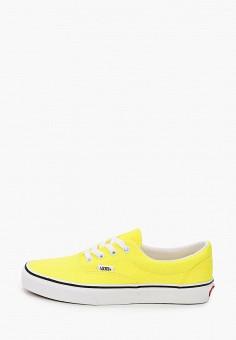 Кеды, Vans, цвет: желтый. Артикул: VA984AWIMKW3.
