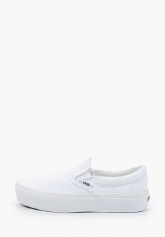 Слипоны, Vans, цвет: белый. Артикул: VA984AWIMKZ0. Спорт