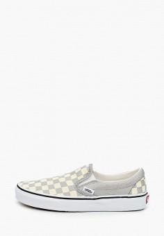 Слипоны, Vans, цвет: мультиколор. Артикул: VA984AWIMKZ5. Обувь / Слипоны
