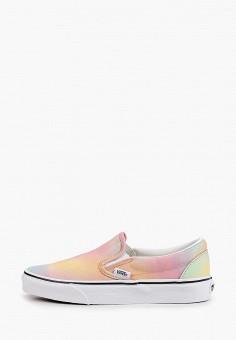Слипоны, Vans, цвет: мультиколор. Артикул: VA984AWIMLA0. Обувь / Слипоны