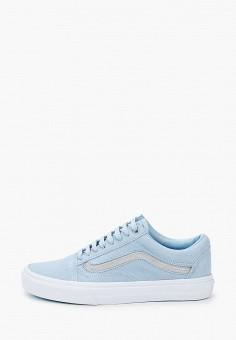 Кеды, Vans, цвет: голубой. Артикул: VA984AWJNYD2.