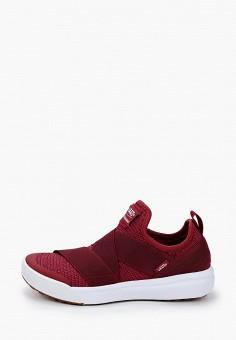 Кроссовки, Vans, цвет: бордовый. Артикул: VA984AWJNYE0.