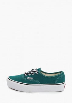 Кеды, Vans, цвет: зеленый. Артикул: VA984AWJNYO2.