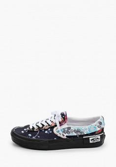 Слипоны, Vans, цвет: черный. Артикул: VA984AWJNYO8.
