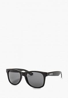 Очки солнцезащитные, Vans, цвет: черный. Артикул: VA984DMFMG81.