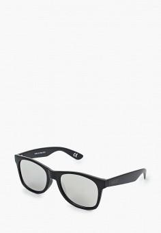 Очки солнцезащитные, Vans, цвет: черный. Артикул: VA984DMIMBW9.