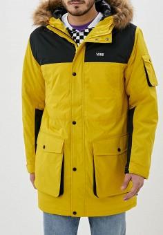 Парка, Vans, цвет: желтый. Артикул: VA984EMGDBJ8.