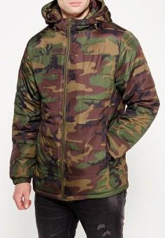 Куртка утепленная, Vans, цвет: хаки. Артикул: VA984EMVZR99.