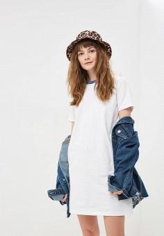 Платье, Vans, цвет: белый. Артикул: VA984EWEGBZ7.