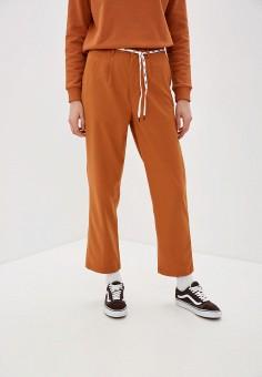 Брюки, Vans, цвет: оранжевый. Артикул: VA984EWIMHX4.
