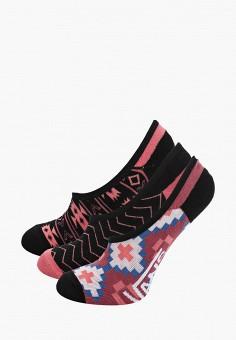 Комплект, Vans, цвет: розовый, черный. Артикул: VA984FWIJXA2.