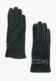 Перчатки, Venera, цвет: зеленый. Артикул: VE003DWGWDG0. Аксессуары / Перчатки и варежки