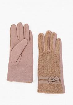 Перчатки, Venera, цвет: бежевый. Артикул: VE003DWGWDG4. Аксессуары / Перчатки и варежки