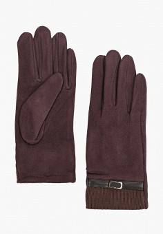 Перчатки, Venera, цвет: коричневый. Артикул: VE003DWGWDG9. Аксессуары / Перчатки и варежки