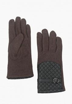 Перчатки, Venera, цвет: коричневый. Артикул: VE003DWZGD86. Аксессуары / Перчатки и варежки