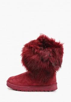 Полусапоги, Vera Blum, цвет: бордовый. Артикул: VE028AWHCUQ7. Обувь / Сапоги / Угги и унты