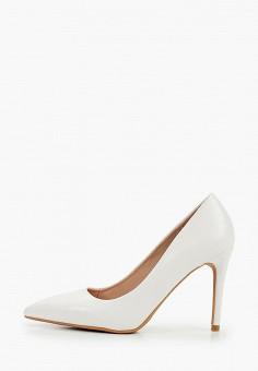 Туфли, Vera Blum, цвет: белый. Артикул: VE028AWIPPI0. Обувь / Туфли / Лодочки