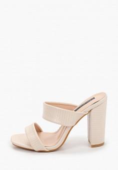 Сабо, Vera Blum, цвет: бежевый. Артикул: VE028AWJGUB7. Обувь / Сабо и мюли