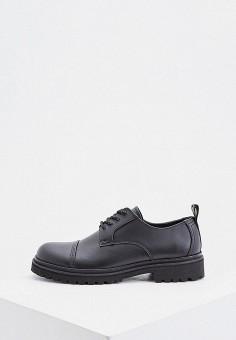Ботинки, Versace Jeans Couture, цвет: черный. Артикул: VE035AMHYPQ3. Обувь / Ботинки / Низкие ботинки
