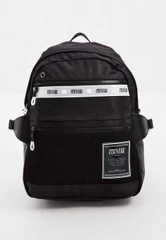 Рюкзак, Versace Jeans Couture, цвет: черный. Артикул: VE035BMHYPO3. Аксессуары / Рюкзаки