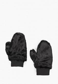 Варежки, Vero Moda, цвет: черный. Артикул: VE389DWGIVT0. Аксессуары / Перчатки и варежки
