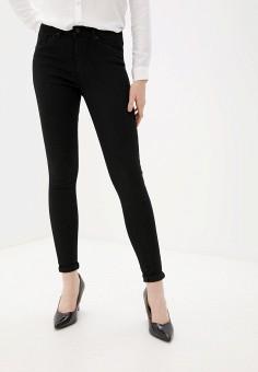 Джинсы, Vero Moda, цвет: черный. Артикул: VE389EWGEFS5. Одежда / Джинсы / Узкие джинсы