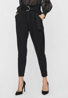 Брюки, Vero Moda, цвет: черный. Артикул: VE389EWJPNK3. Одежда / Брюки / Классические брюки