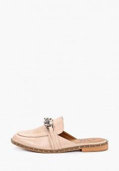 Мюли, VH, цвет: розовый. Артикул: VH001AWEXNC2. Обувь / Сабо и мюли