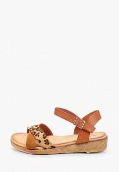 Сандалии, VH, цвет: коричневый. Артикул: VH001AWJHSQ1. Обувь / Сандалии