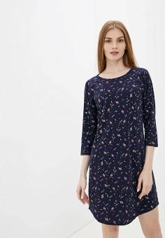 Платье домашнее, Vis-a-Vis, цвет: синий. Артикул: VI003EWGFRR1. Одежда / Домашняя одежда