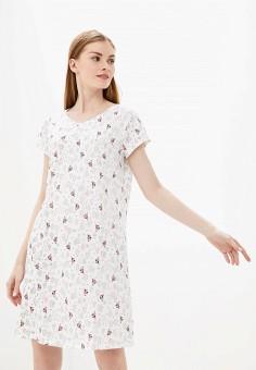 Платье домашнее, Vis-a-Vis, цвет: белый. Артикул: VI003EWGFRR3. Одежда / Домашняя одежда